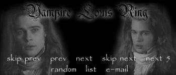 Vampire Louis webring